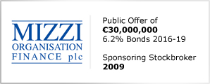 Mizzi Organisation Finance plc - Public Offer of €30,000,000 - 6.2% Bonds 2016-19