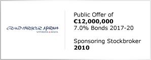 Grand Harbour Marina - Public Offer of €12,000,000 - 7.0% Bonds 2017-20